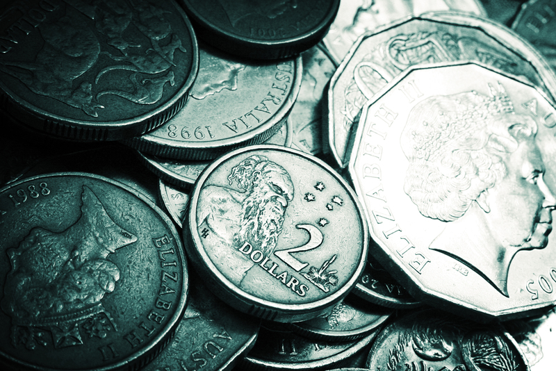 australian money coins save money  - Declutter Your House and Make Some Extra Cash