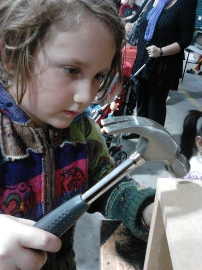 Bunnings DIY Kids Workshop