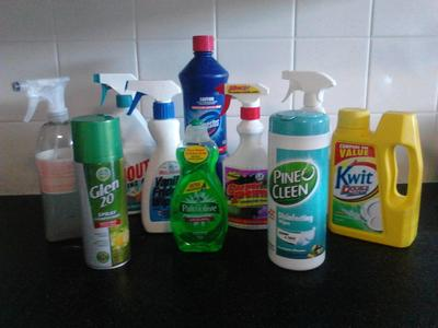 Cleaning products, brand name, savings, clean home