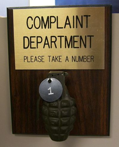 complain department humourous how to make a complaint