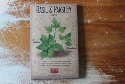 free basil and parsley seeds, seed giveaway,
