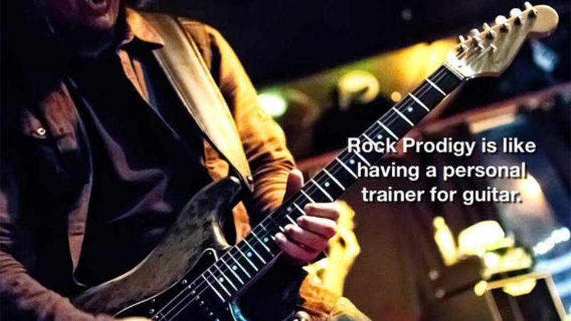 Free Guitar Lessons With Rock Prodigy