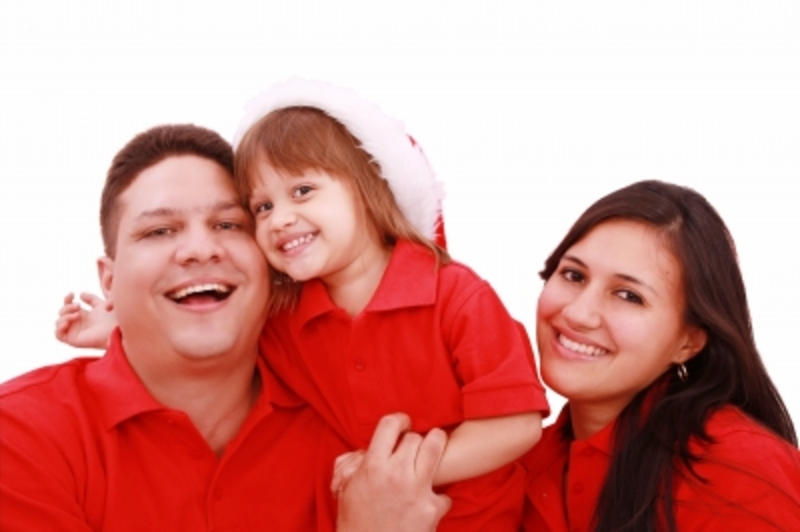 Happy Family at Christmas  - The Christmas Spending Trap