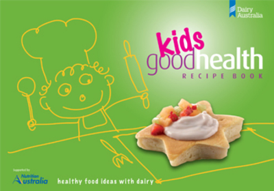 kids healthy cookbook dairy free book
