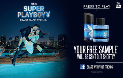 Free Sample - Playboy Fragrance For Him - Money Off
