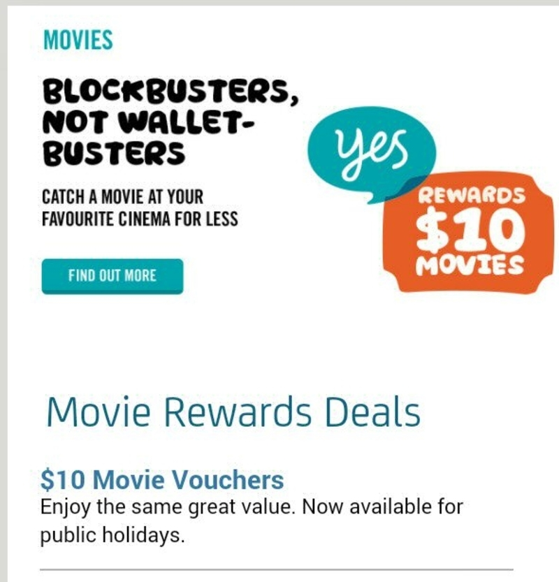 10 movie tickets for optus account holders money off