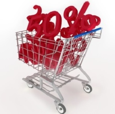 Shopping Trolley with Discounts