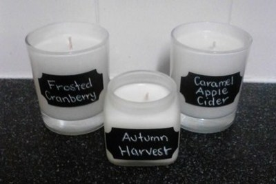 soy candles homemade scented
