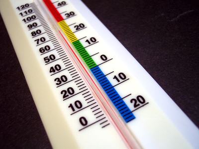 Thermometer, how to keep cool in summer